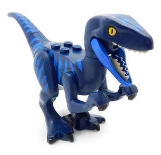 Dark Blue Raptor from Lego Movie 2 Set 70826