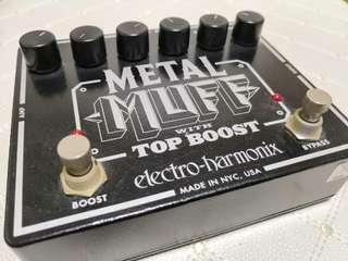 Electro-Harmonix Metal Muff (Distortion with Top Boost)