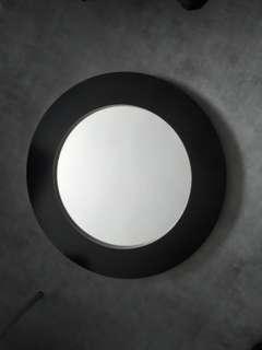 現代黑色70cm可掛式直徑鏡