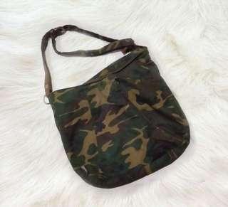 Vintage Camouflage Bag