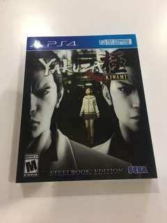Sony PS4 Yakuza Kiwami Steelbook Edition