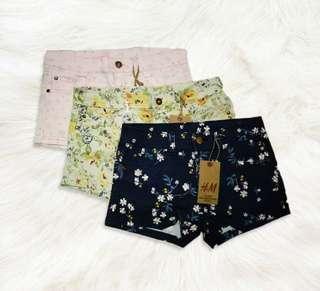 NEW H&M Shorts BUNDLE