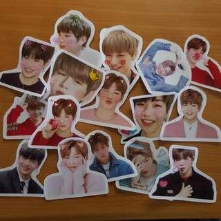 (CNY SPECIAL) wanna one daniel stickers