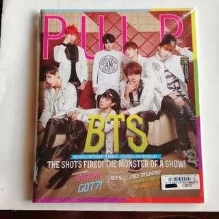 PULP Magazine BTS x 2NE1 Cover