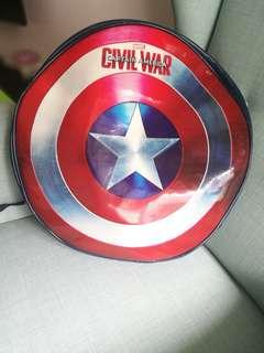 Captain America Shield Bag & Mask