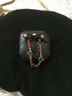 💥BUNDLE💥 bracelet+pair of earrings