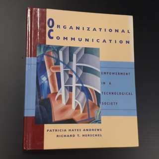 Organizational Communication: Empowerment in a Technological Society (Hardcover Book)