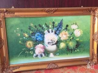 Frame with art