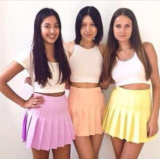 🚚 American Apparel Inspired Tennis Skirts XS
