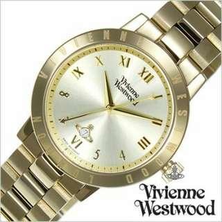"""VV152GDGD英國品牌手錶""""Vivienne Westwood""""兩年保養"""