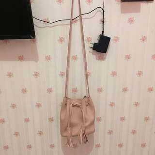 Cute Sling Bag Pink From Miniso
