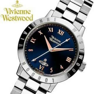 """VV152NVSL英國品牌手錶""""Vivienne Westwood""""兩年保養"""