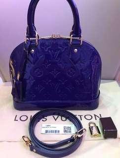Original Louis Vuitton Alma Vernis BB