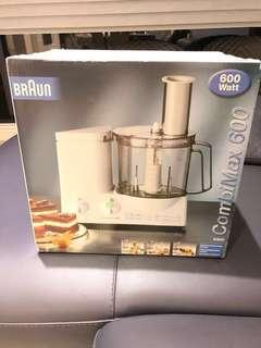 Braun K600 220 Volt Food Processor,食物處理器