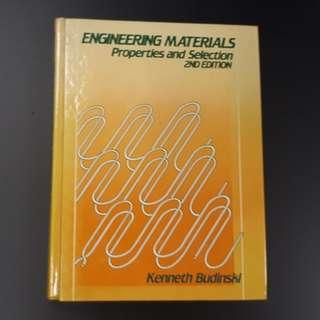 Engineering Materials: Properties and Selection (Hardcover Book)