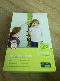 HAPE Wooden Height Chart