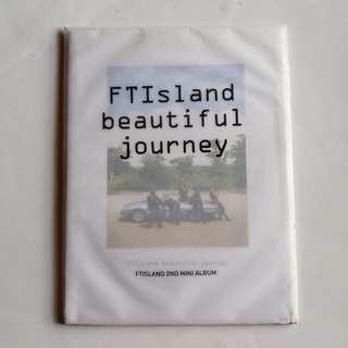 FTISLAND 2nd Mini Album Beautiful Journey