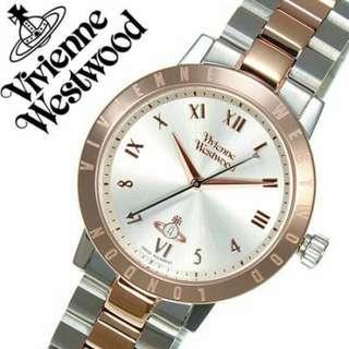 "VV152RSSL英國品牌手錶""Vivienne Westwood""兩年保養"