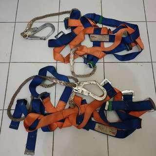 harness safety belt full body with single big hook