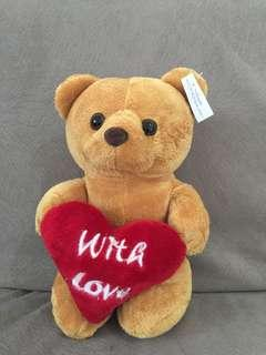 Boneka Bear With Love (Size S)