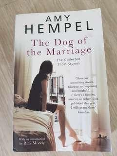 The Dog of Marriage by Amy Hempel