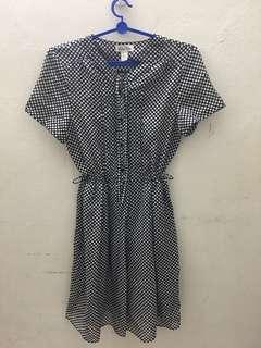 Polkadot Babydoll Dress