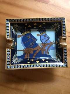 法國hermes經典雪茄裝飾骨瓷缸