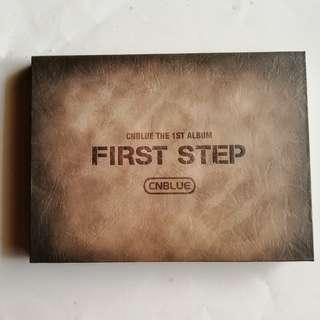 CNBLUE The 1st Album FIRST STEP