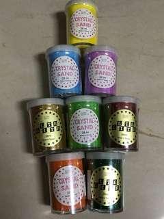 彩砂 亮粉 金蔥 亮晶晶 台灣製 購於香港