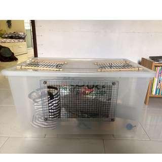 Large DIY Hamster Cage