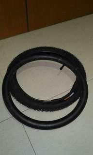 16 * 1.75 tyre and tube