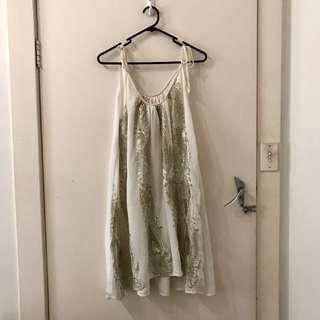 Bacchara Embroidered Sequin Dress
