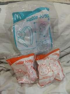 McDonald's Hello Kitty series toys
