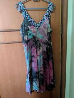 Palma 💯 silk tie dye dress