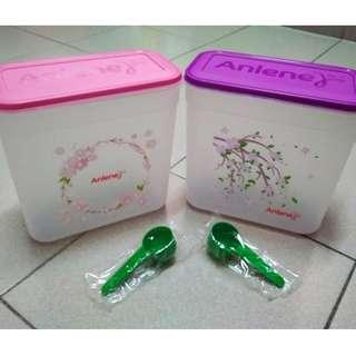 Anlene Plastic Containers