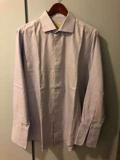 Bespoke men's dress shirt