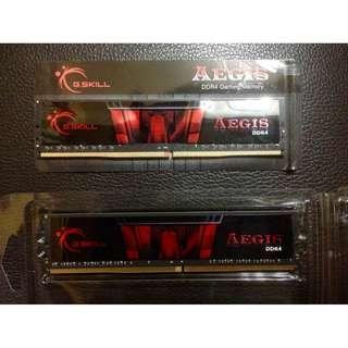 G.SKILL AEGIS 8GB DDR4 2666MHZ