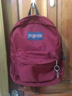 Jansport Maroon Original No dent