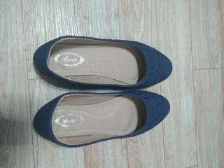 DARK BLUE DOLL SHOES