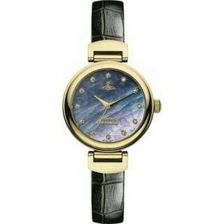 "VV128GDBK英國品牌手錶""Vivienne Westwood""兩年保養"