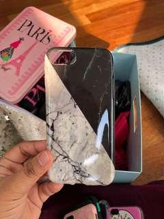 Marble iphone casing