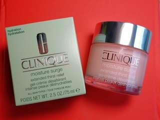 (100% 新) Clinique moisture surge 補濕啫喱 75ml 大罐裝 #summer19