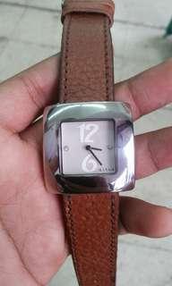 Jam tangan Mango square face original