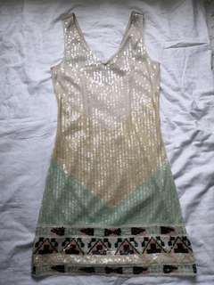 PROMOD sequined dress -free sf w/in MM