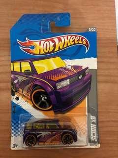 Hotwheels Hot Wheels HE Code cars 12 Scion xb