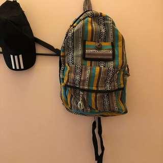 🚚 背包 帆布包 民族風 全新包包
