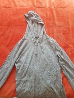 Hangten Grey/Gray Hooded Jacket
