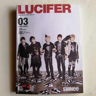 SHINee 3rd Japanese Single Lucifer