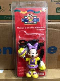 BNIP! Cute Mickey Mouse and Friends Minnie Stopwatch