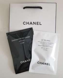 Chanel Mascara Base sample 眼睫毛液 妝前乳液